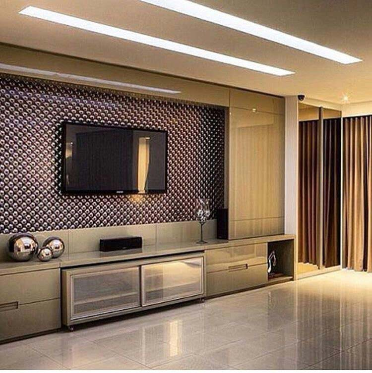 tv unit interior design in dadar