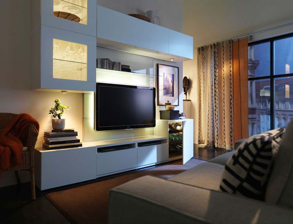 tv unit interior design in borivali west