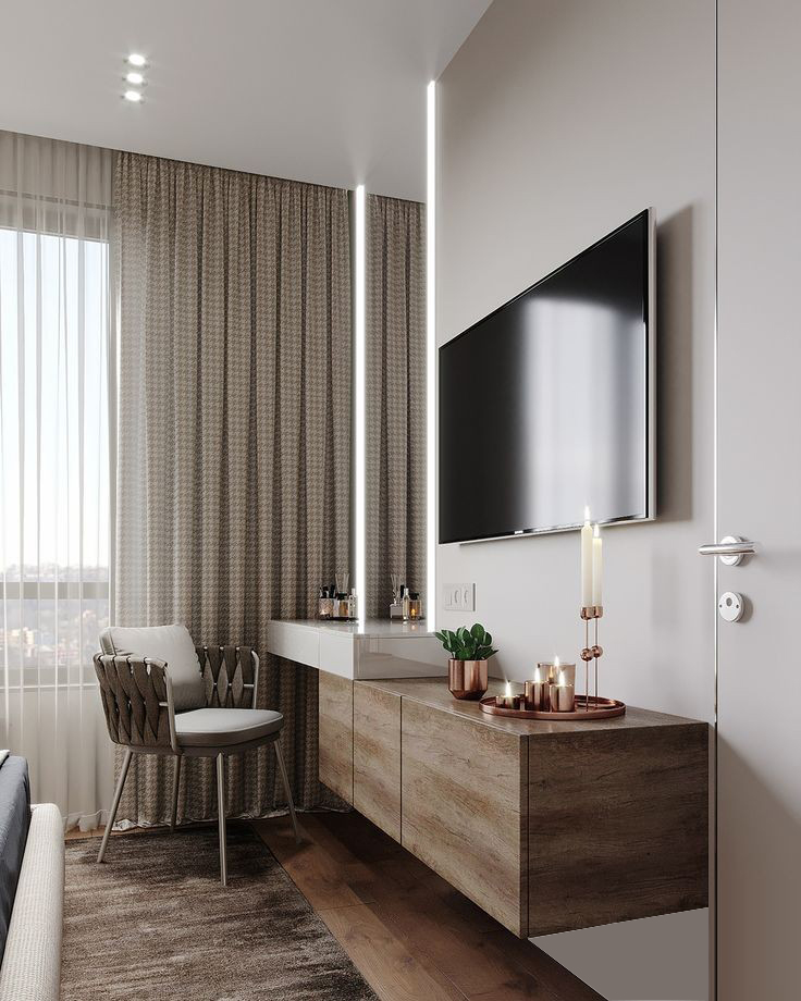 tv unit interior design in kandivali