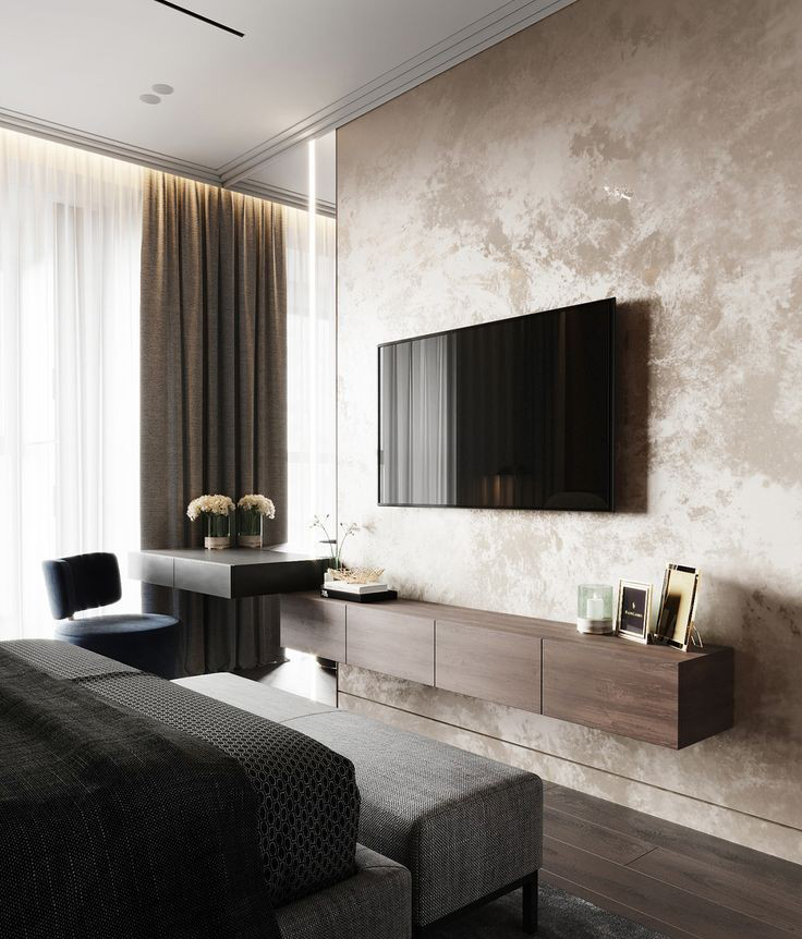 tv unit interior design in kandivali west