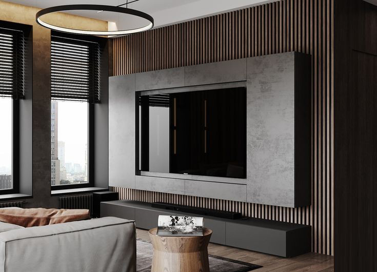 tv unit interior design in malad